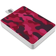 Seagate One Touch SSD 500GB, Red - External hard drive