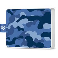 Seagate One Touch SSD 500GB, Blue - External hard drive