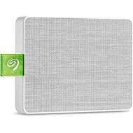 Seagate Ultra Touch SSD 500GB, White - External Hard Drive