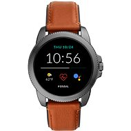 Fossil FTW4055 Gen 5E 44mm Brown Leather - Smartwatch