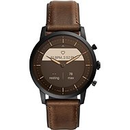 Fossil FTW7008 Hybrid HR Collider 42mm - Brown Leather - Smartwatch