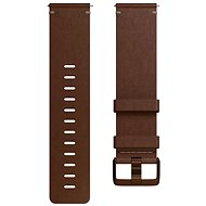 Fitbit Versa Accessory Band, Leather, Cognac, Large - Watch band