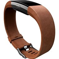 Fitbit Charge 2 Band Leather Brown Small - Watch band