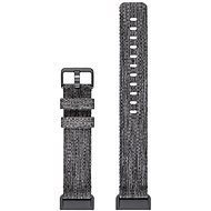 Fitbit Charge 3 Accessory Band Woven Charcoal Large - Watch band