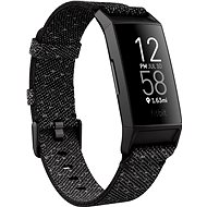 Fitbit Charge 4 Special Edition (NFC) - Granite Reflective Woven/Black - Fitness Bracelet
