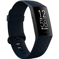 Fitbit Charge 4 (NFC) - Storm Blue/Black - Fitness Tracker