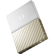 "WD 2.5"" My Passport Ultra Metal 4TB white/gold - External hard drive"