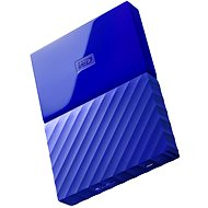 "WD 2.5"" My Passport 1TB Blue - External hard drive"