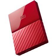 "WD 2.5"" My Passport 1TB Red - External hard drive"