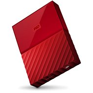 "WD 2.5"" My Passport 4TB red - External hard drive"