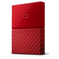 "WD 2.5"" My Passport 2TB red slim - External hard drive"