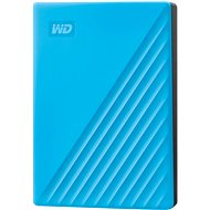 WD My Passport 4TB, blue - External Hard Drive