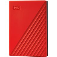 WD My Passport 4TB, red - External Hard Drive