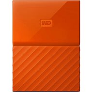 WD My Passport 1TB USB 3.0 Orange - External Hard Drive