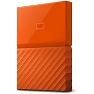 WD My Passport 4TB USB 3.0 Orange - External Hard Drive