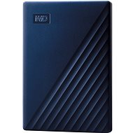 WD My Passport for Mac 4TB, blue - External Hard Drive