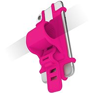 CELLY EASY BIKE for Phones, to Mount on the Handlebar, Pink - Mobile Phone Case