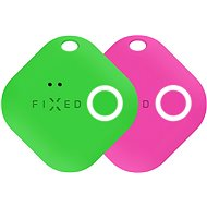 FIXED Smile with Motion Sensor, DUO PACK - Green + Pink
