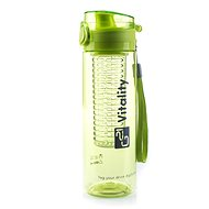 G21 Smoothie/Juice Bottle, 600ml, Green - Drink bottle