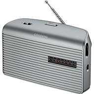 Music GRUNDIG 60 silver - Portable Radio
