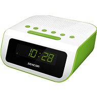 Sencor SRC 135 white-green - Radio Alarm Clock