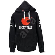 eXtatus Sweatshirt with Sponsor's Logo in Black - Sweatshirt