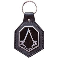 Assassin's Creed Syndicate - Pu Keychain with Metal Logo Patch - Keyring