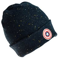 Captain America Beanie With Logo - Cap