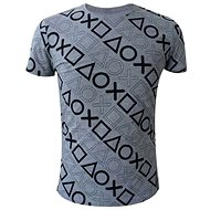 Playstation - Button theme - gray - T-Shirt