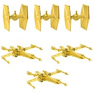 Star Wars - Gold Decorations (6x) - Christmas decorations