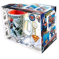 Superman set - mug, pendant, 2x badge - Gift Set