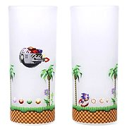 Sonic & Eggman - 2x Glass - Glass for Cold Drinks