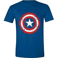 Captain America Cracked Shield - XXL T-shirt - T-Shirt