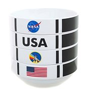 NASA Shuttle Stackable Set - bowls - Set
