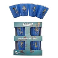 Fallout - stamprle (4x) - Glass for Cold Drinks