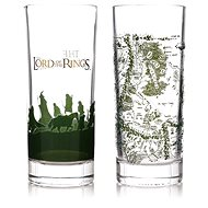 The Lord of the Rings - Set of 2 Glasses - Glass