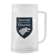 Game of Thrones - Winter is Coming - Cooling Glass Tankard - Glass for Cold Drinks