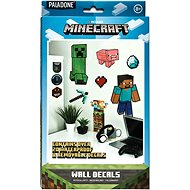 Minecraft - Wall Stickers, 19pcs - Sticker