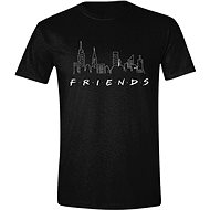 Friends - Logo and Skyline - T-shirt, size S - T-Shirt