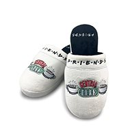Friends - Central Perk - slippers size 38-41 white - Slippers