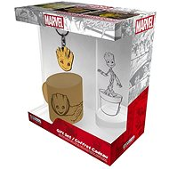 Marvel - Groot - mini mug, glasses, pendant - Gift Set