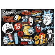 Rick And Morty - School - Mouse Pad - Mouse Pad