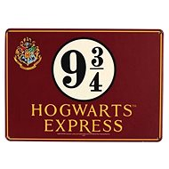 Harry Potter - Platform 9 3/4 - metal sign on the wall, size A5 - Sheet