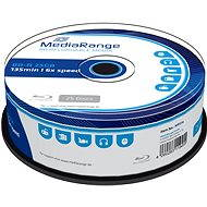 MediaRange BD-R (HTL) 25GB, 25pcs cakebox - Media