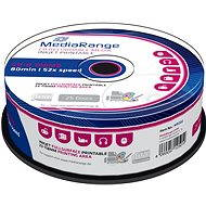 MediaRange CD-R Inkjet Full Surface Printable 25pcs cakebox - Media