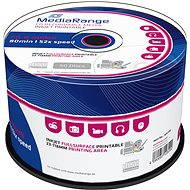 MediaRange CD-R Inkjet Printable 50pcs cakebox - Media