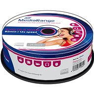 MediaRange CD-R Audio 25pcs cakebox - Media