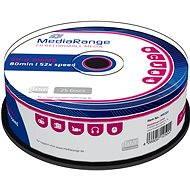 MediaRange CD-R 25pcs cakebox - Media
