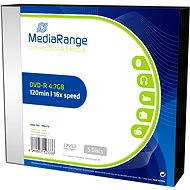 MediaRange DVD-R 5pcs in SLIM box
