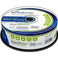 MediaRange DVD-R Waterguard Inkjet Full Printable 25pcs cakebox - Media